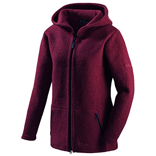 Mufflon Damen Walk-Long-Jacket MATA Rosso L (44)