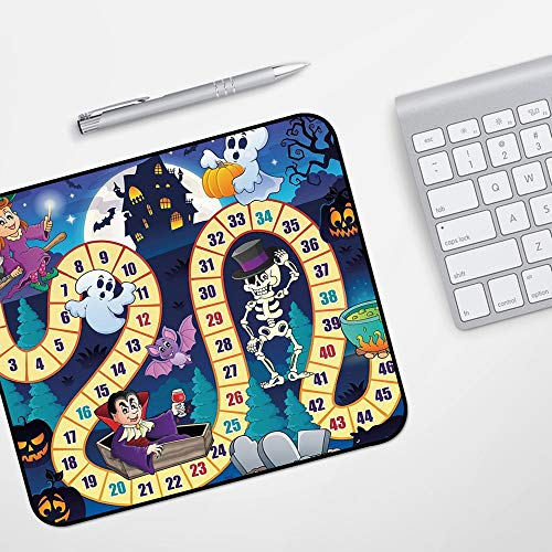para Ratón con Cable o Inalámbrico,Juego de mesa, símbolos temáticos de Halloween...