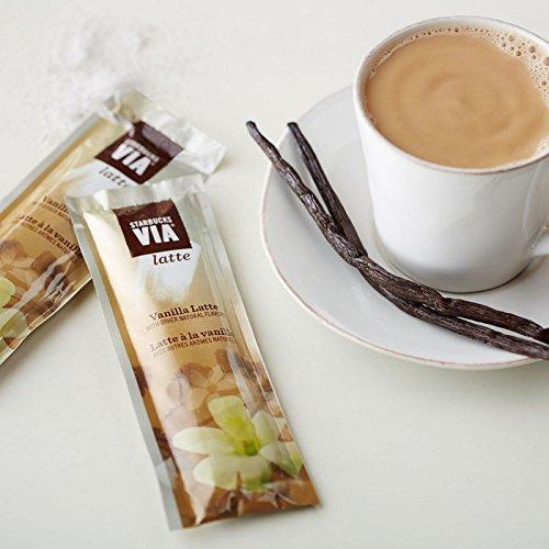Starbucks VIA Latte - Caffe Mocha, Vanilla Latte, Chocolate, Caramel