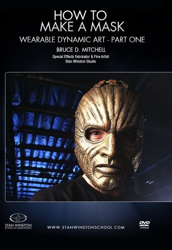 How To Make A Mask - Wearable Dynamic Art Part 1 by Bruce Mitchell