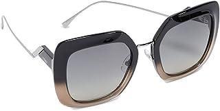 نظارات شمسية للنساء من فيندي، عدسة، FF0317/S رمادي 53