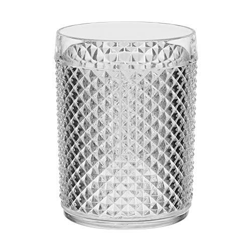 Trend'up - Gobelet acrylique 50 cl diamant (lot de 6)