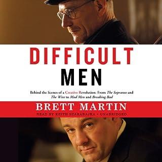 Difficult Men audiobook cover art