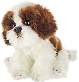 Bearington Bentley Plush Shih Tzu Dog Stuffed Animal, 13 Inch
