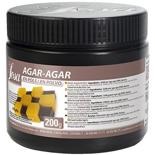 Sosa – Agar en polvo – 200 g