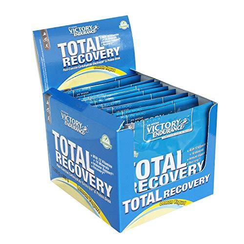 Weider Victory Endurance Total Recovery Carbo-Protein Powder 12 Sachets, Yogurt Lemon, 50 g
