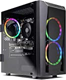 SkyTechBlaze II Gaming Computer PC Desktop – Ryzen 5 2600 6-Core 3.4 GHz,...
