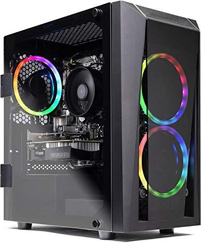 SkyTech Blaze II Gaming Computer PC Desktop - Ryzen 5 3600 6-Core 3.6GHz, GTX 1660 Super 6G, 500G...