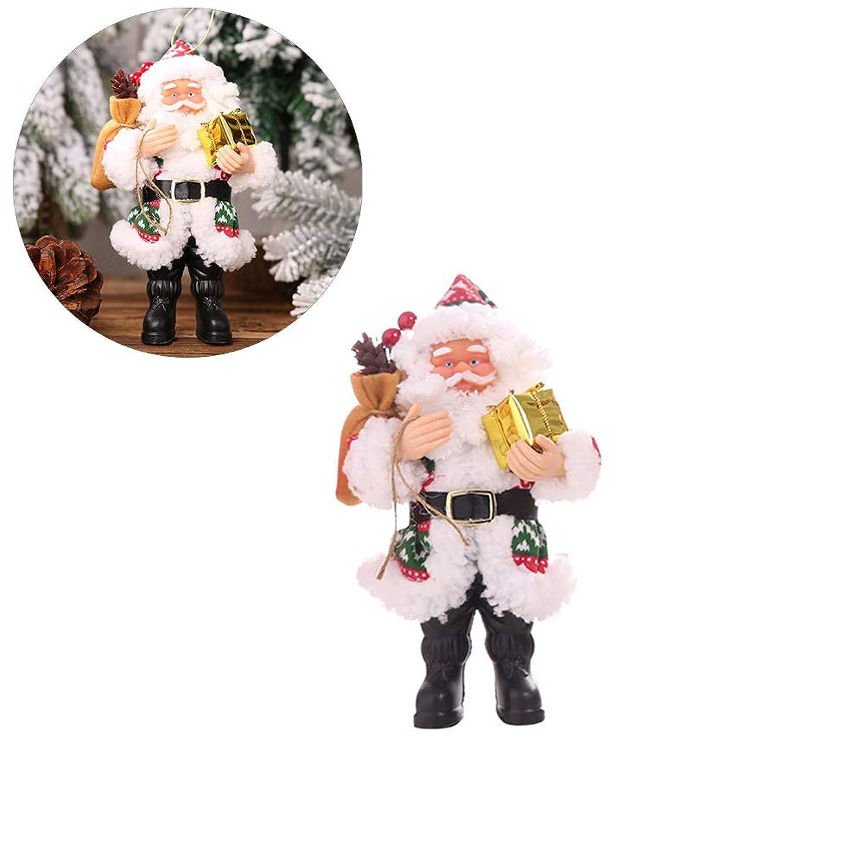 寺院娯楽第三Urhomy サンタクロースの飾り サンタクロース 立っている 小型サンタクロース サンタクロース人形 サンタクロースペンダント クリスマス 樹脂サンタクロース 立ち姿勢装飾人形ペンダント クリスマス装飾 置物 装飾 オシャレ アクセサリー 萌え 小物 装飾 庭 DIY クリスマス サンタクロース 萌え 小物 マイクロ景観 冬の祝い パーティー アクセサリー 歳暮ギフト