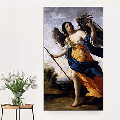 YuanMinglu Impresión nórdica del Cartel Lienzo Sala de Estar decoración del hogar Pintura al óleo Moderna Pared Arte Cartel Imagen Arte Pintura sin Marco 60x108 cm