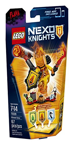 LEGO Nexo Knights 70339 Ultimate Flama Building Kit (67 Piece) by