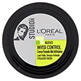 L'Oréal Paris Studio Line Invisi Control Crema Gel per Capelli, Fissaggio Medio - 75 ml