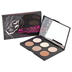 Australis AC On Tour Powder Contouring & Highlighting Healthy Glow Palette Makeup Cosmetics - Light Create that those perfectly chiselled contours and highlights with this professional kit. Conveniently put together in one compact, you will always fi...