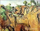 yiyiyaya Frameless Hitler-Malerei Kunstwerk Kunst Reproduktion Gemälde handgemachte hohe Qualität 40_X_30inch