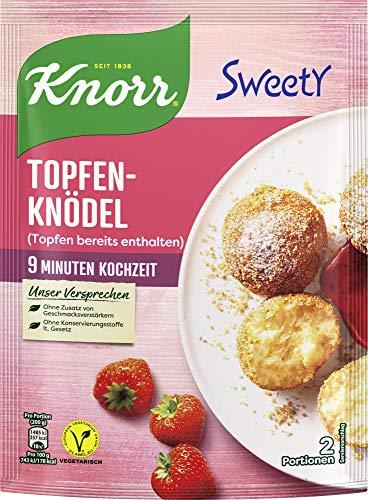 Knorr Sweety Topfenknödel, 2 Portionen (1 x 150 g)