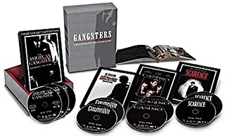 Gangsters - The Ultimate Film Collection (American Gangster / Scarface (1983) / Casino / Carlito`s Way)