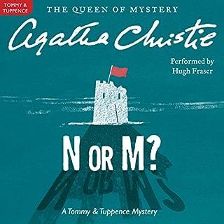 N or M? audiobook cover art
