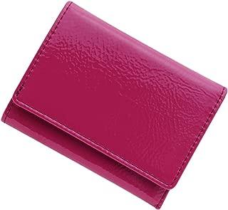 極小財布(エナメル/牛革)ベーシック型小銭入れ BECKER(ベッカー)日本製 ミニ財布/三つ折り