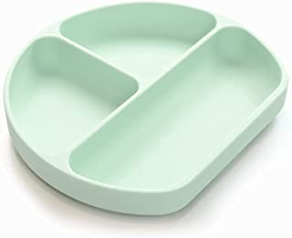 Yooforea Silicone Suction Plate, Divided Dish, Sectioned Grip Plate for Babies Toddlers I 100% Platinum Food Grade Silicon...