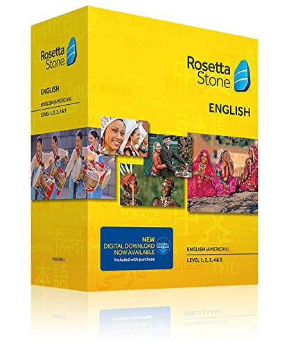 Rosetta Stone Totale English Level 1, 2, 3, 4 & 5: English (American): Version 4