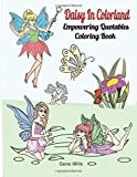 Daisy In Colorland: Empowering Quotables Coloring Book Inspirational Quotes. Fairy Pictures With Flowers, Lilies, Butterflies, And Birds.