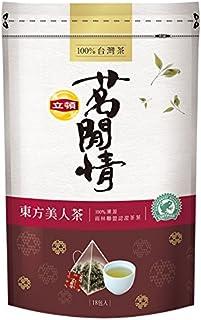 《立頓》 茗間情 東方美人茶(台湾リプトン-東方美人茶)(三角ティーバッグ-18入/包) 《台湾 お土産》 [並行輸入品]