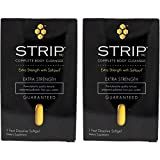 Wellgenix Strip NC Complete Body Cleanser- Extra Strength with Softpsyll- 1 Fast Dissolve Softgel (2...