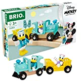 Brio 32260 Disney Mickey and Friends: Donald & Daisy Duck Train | Wooden Toy Train Set for Kids Age 3 and Up - Amazon Exclusive