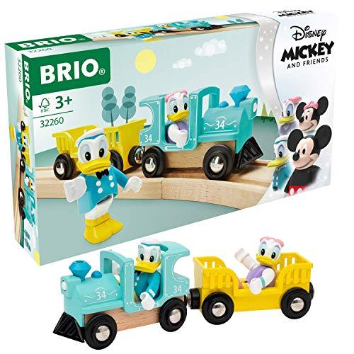 BRIO- Donald y Daisy Juego Libre con Sistema de Trenes (2)