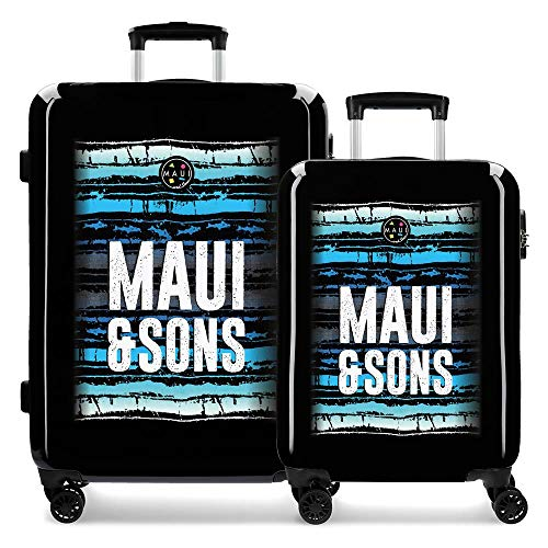 Maui & Sons Waves Kofferset, 69 cm, 108 Liter, mehrfarbig