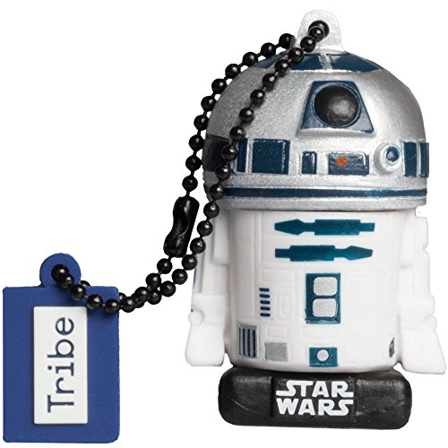 Llave USB 16 GB R2D2 TLJ - Memoria Flash Drive 2.0 Original Star Wars, Tribe FD030511