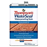 THOMPSONS WATERSEAL TH.041831-16 Transparent Waterproofing Stain, Sequoia Red