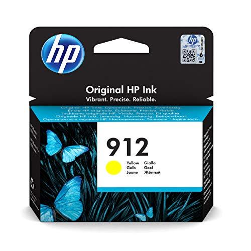 HP 912 3YL79AE, Amarillo, Cartucho de Tinta Original, Compat