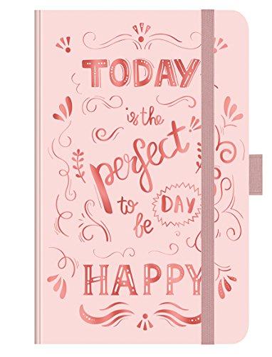 PT Small Rose Gold TypoArt 272619 2019: Buchkalender - Terminplaner mit hochwertiger Folienveredelung und Prägung. 9 x 14 cm