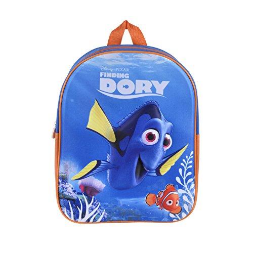 Disney Finding Dory Kids Backpack Junior 3D Design Cartoon Print Boys Girls Bag