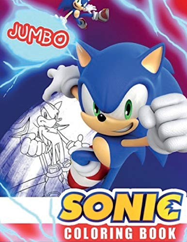 Sonic coloring book: Great Coloring Book for Kids and Any Fan of Sonic Characters
