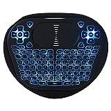 YesVCTR Tastiera tattile, Ingresso a Tastiera Completa Intelligente, Controllo Multi-Dita, Trasmissione a Lunga Distanza 2.4G Mini Tastiera retroilluminata