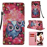Galaxy Note 9 Case, UZER 3D Series Premium PU Leather Shockproof Kick Stand Function Flip Wallet Case with Card Holder ID Slot Money Pocket Durable Magnetic Book Case for Samsung Galaxy Note 9 6.4'