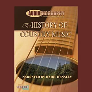 The History of Country Music audiobook cover art