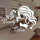 Eyelash Wall Makeup Wall Sticker Lengthen Eyelashes Applique Beauty Salon -57x42cm