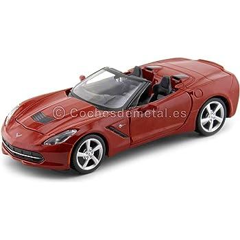 SG/_B00LXOQTY8/_US Red Maisto Fresh Metal Die-Cast Vehicles ~ 2014 Corvette Stingray