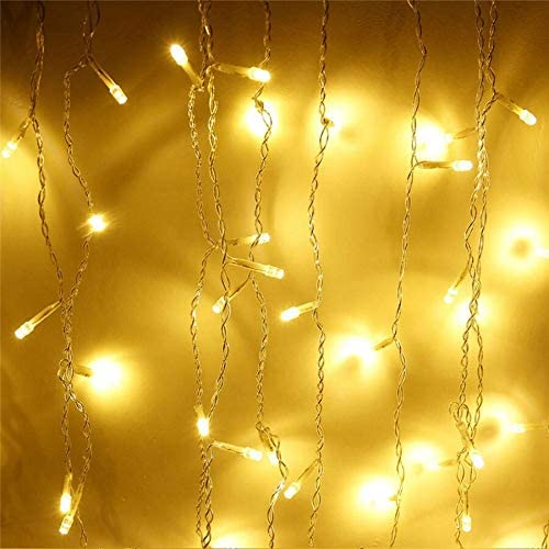 lliang Gifts Decorative Max 73% OFF Light String Lights Curtain Christmas 4