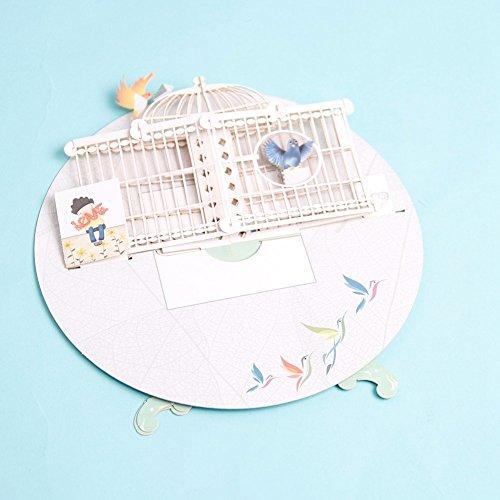 PaperSpiritz『立体ポップアップグリーティングカード』