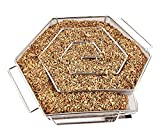 Nak Cold Smoke Generator for BBQ Grill or Smoker Wood Chips dust Hot and Cold   Smoking Salmon Meat Burn
