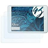 Bruni Schutzfolie kompatibel mit Blaupunkt Polaris Folie, glasklare Bildschirmschutzfolie (2X)