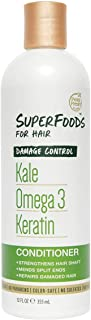 Petal Fresh SuperFoods Damage Control Conditioner (Kale, Omega 3 & Keratin) | SuperFoods Beauty