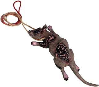 Halloween Realistic Rat Decoration Gory Latex Hanging Mouse Party Favors Supplies Spooky Haunted House Decor April Fool's ...