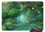 Fairy Forest With Lantern Mouse Pad