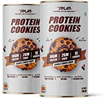 Ripped Up Nutrition Protein Cookies Choco-Chip (Pack of 2) - 300gm