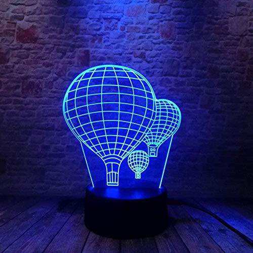Party Balloon Model 3D Illusion Led Lights Colorful Touch Night Lights Flash Toy Holiday Gifts
